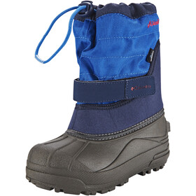 Columbia Powderbug Plus II Boots Kids collegiate navy / chili